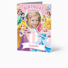 Personalised Birthday Cards For Kids