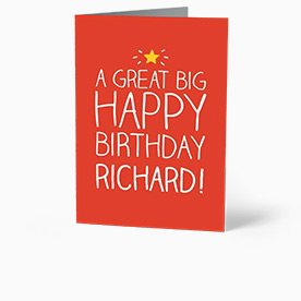 Personalised Birthday Cards For Friends