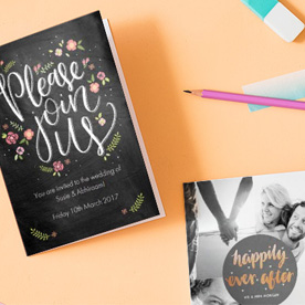 what to write a wedding card