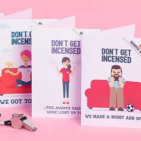 funny football greeting cards