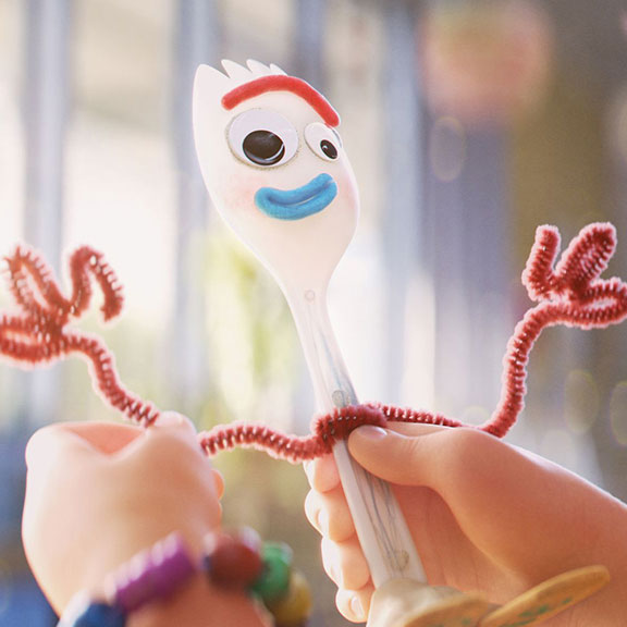 Forky and Toy Story 4