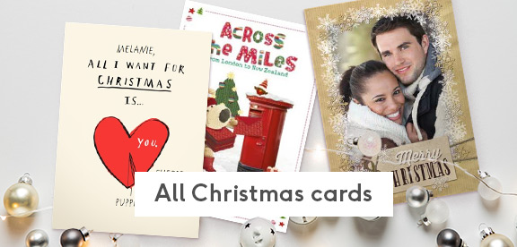Christmas Picture Cards.Christmas Cards Personalised Christmas Cards Moonpig