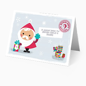 Santa Claus Letter From The North Pole Santa Letter Moonpig