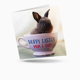 personalised easter cards