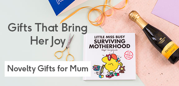 mothers day fun & novelty gifts