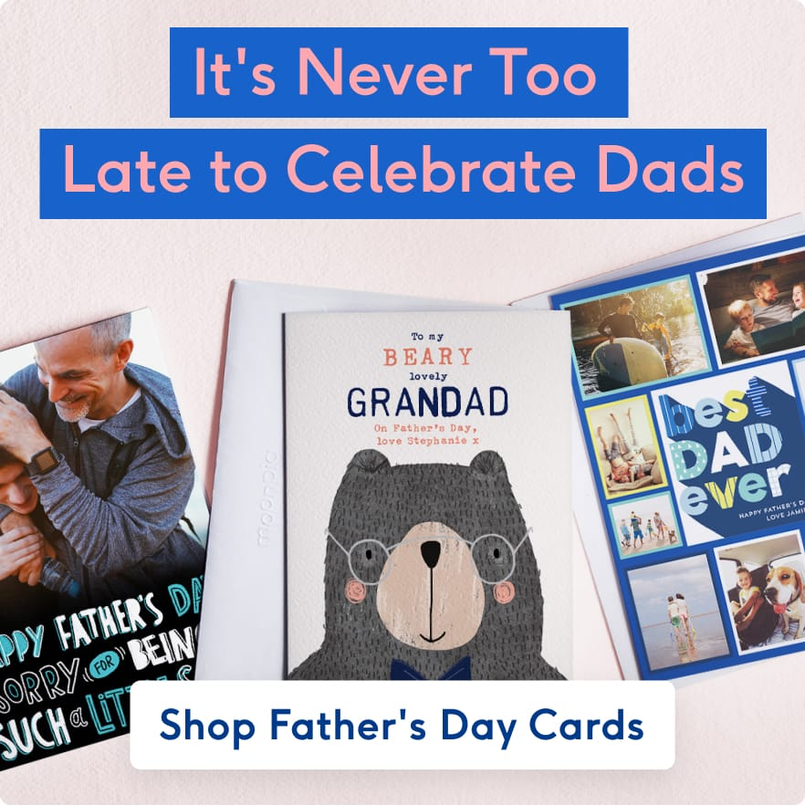 Order now for Fathers Day Delivery