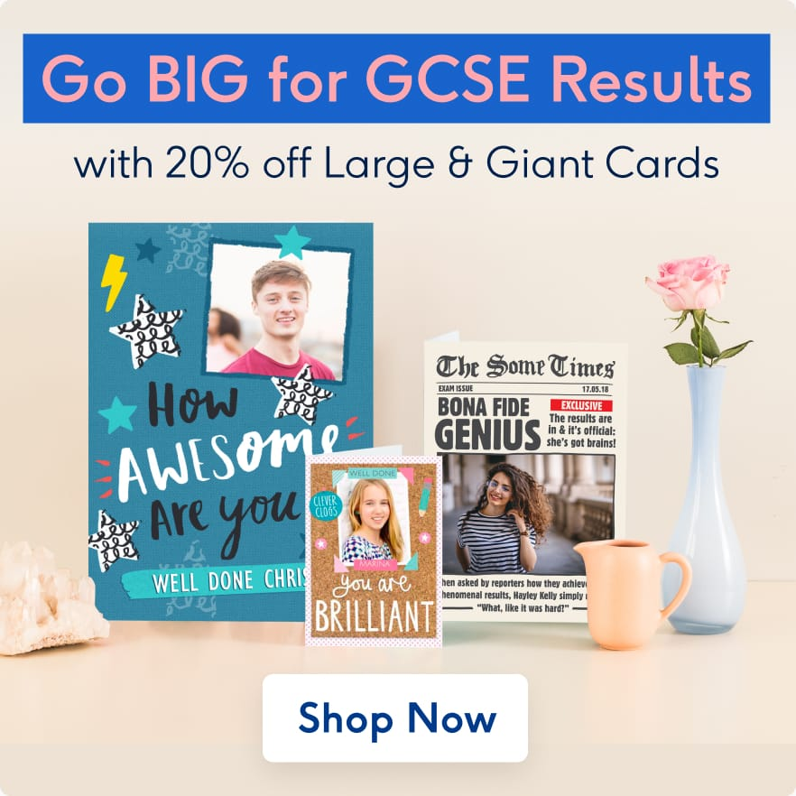 Celebrate with Exam Results Cards