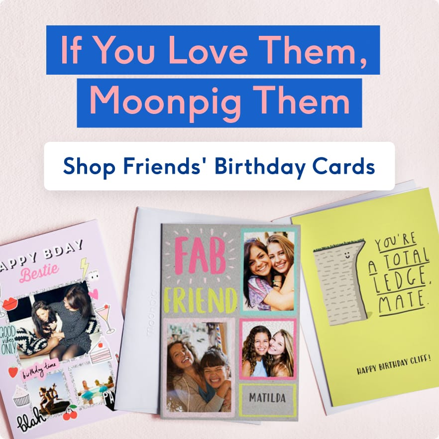 Moonpig | Personalised Cards | Unique Gifts | Flowers