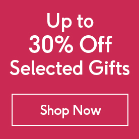 up to 30 off on selected gifts