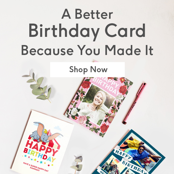 Order Your Personalised Card By 730pm Mon