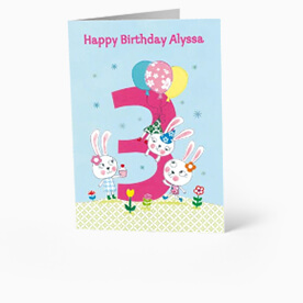 2 Year Old Card