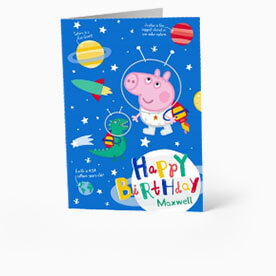 Peppa Pig Birthday Cards