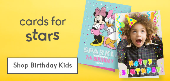 personalised childrens birthday cards