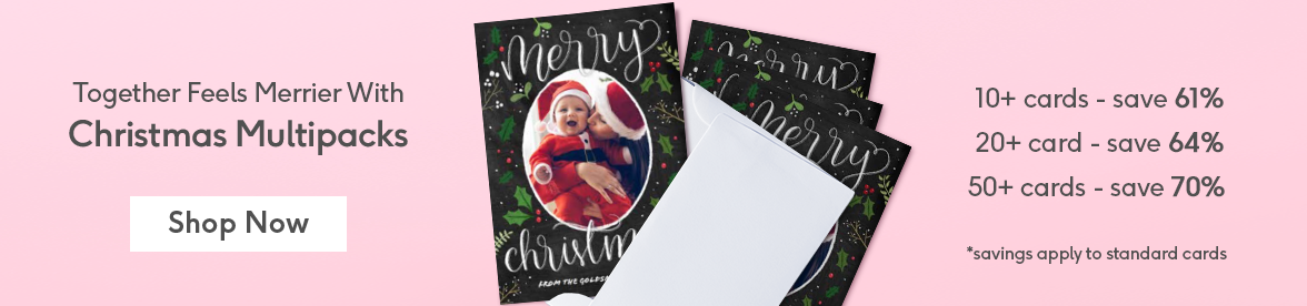 multipack christmas cards