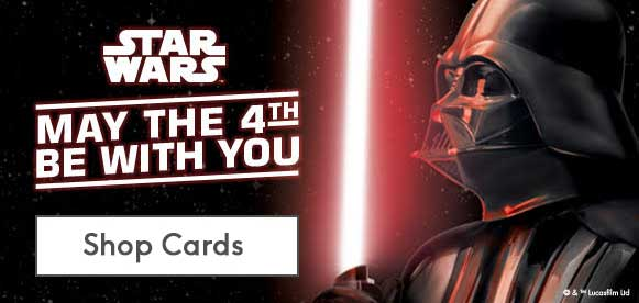 personalised star wars cards