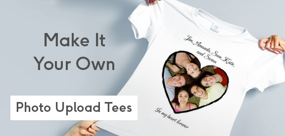 personalised t-shirts for birthdays